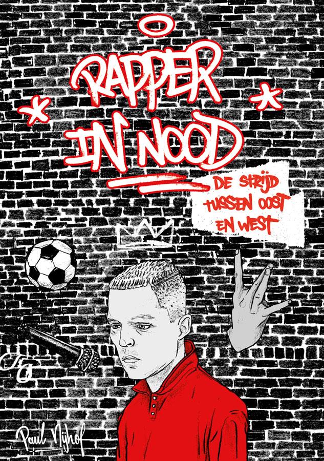 rapper in nood boek